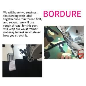 waist trainer bordure