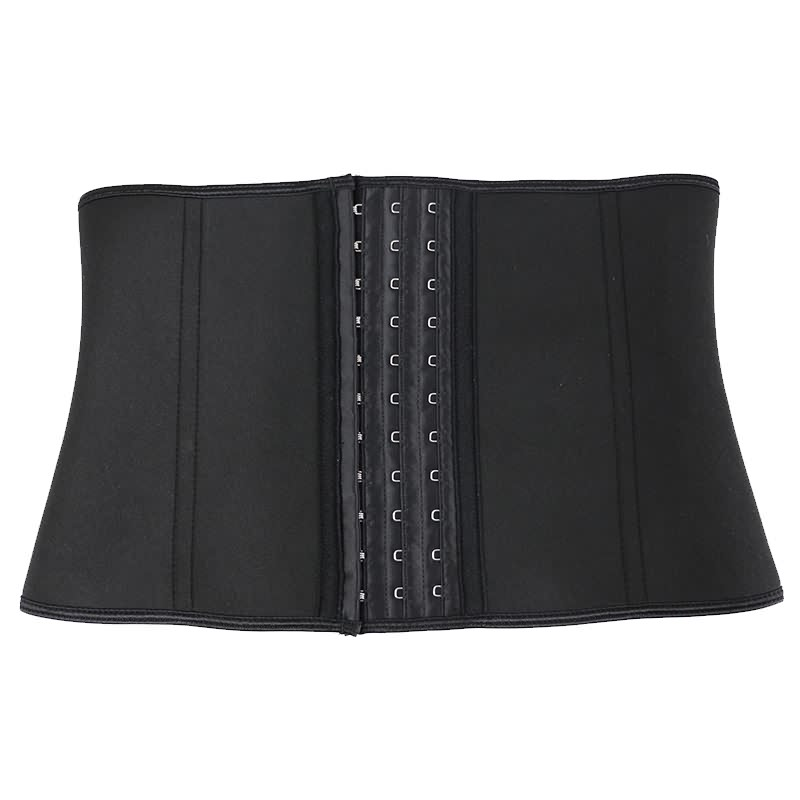 front of flat cinched waist