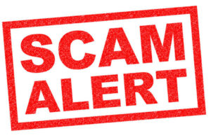 Beware of Email Scams!