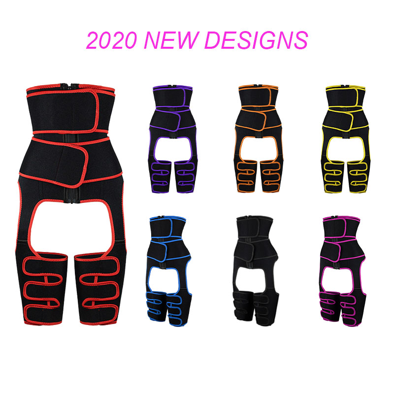 7 Colors Neoprene Double Belt Body Shaper Thigh Shaper