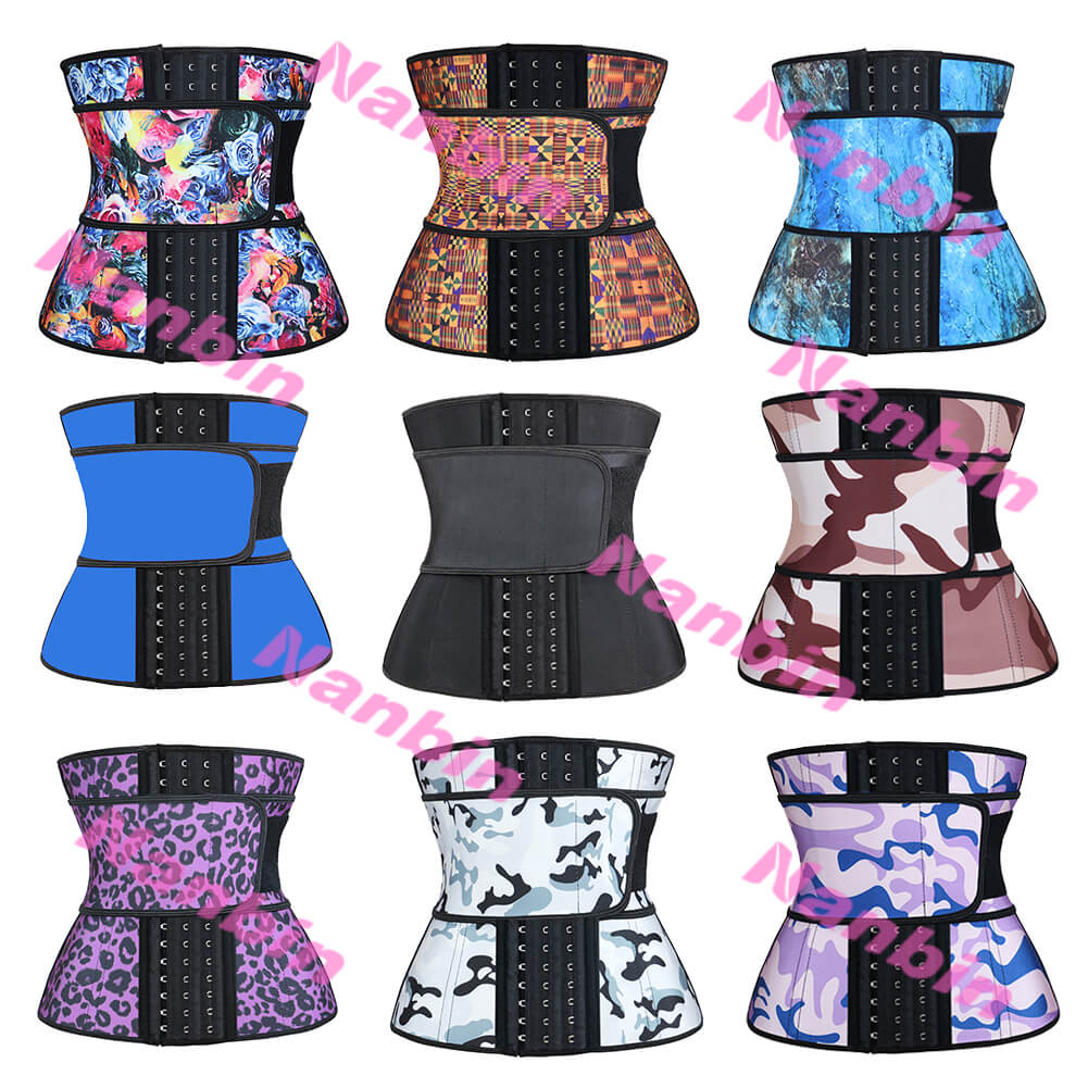 Private Label Rose Latex Waist Trainer