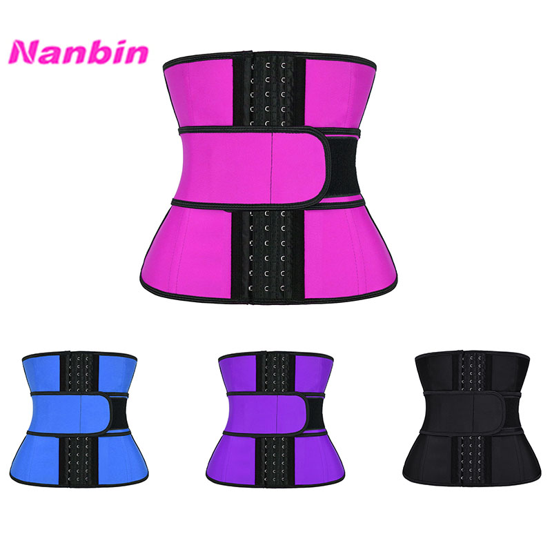 9 Steel Boned Waist Trainer With Belt
