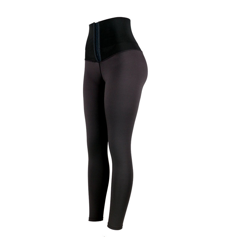 The left of high waist trainer shapewear shaping pants