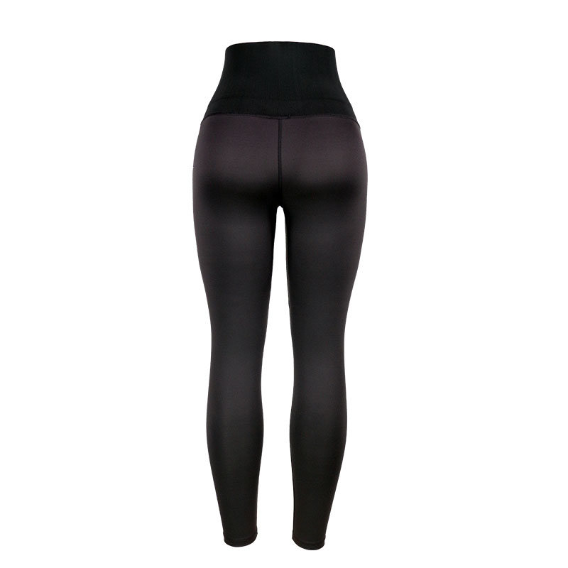 The back of high waist trainer shapewear shaping pants