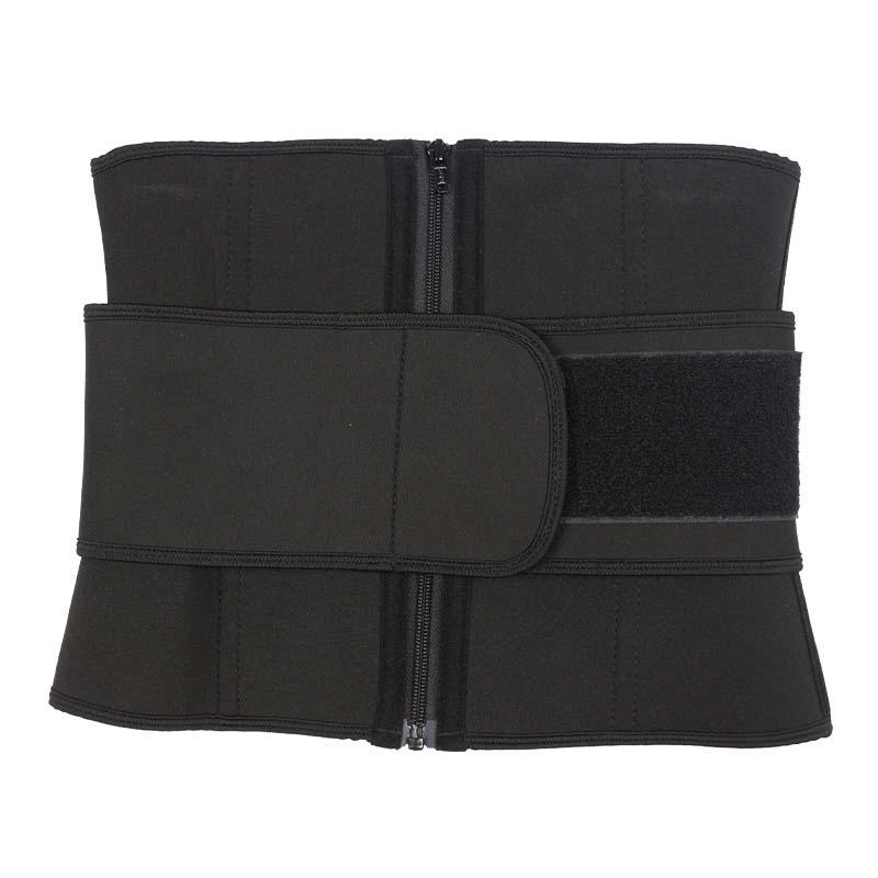 wholesale neoprene waist cincher belt with YKK zipper
