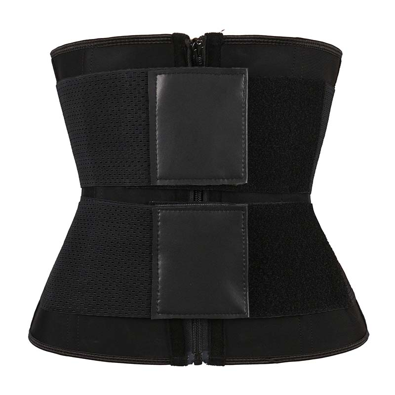 Wholesale Double Belt Waist Trainer With YKK Zipper