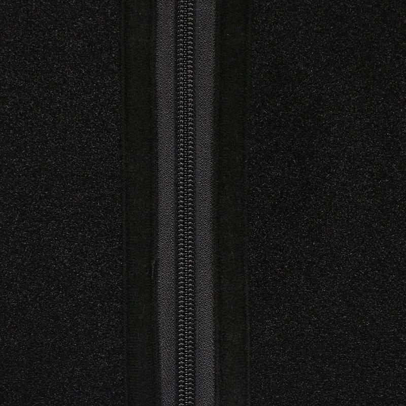 The zipper of 9 steel boned double belt waist trainer wholesale