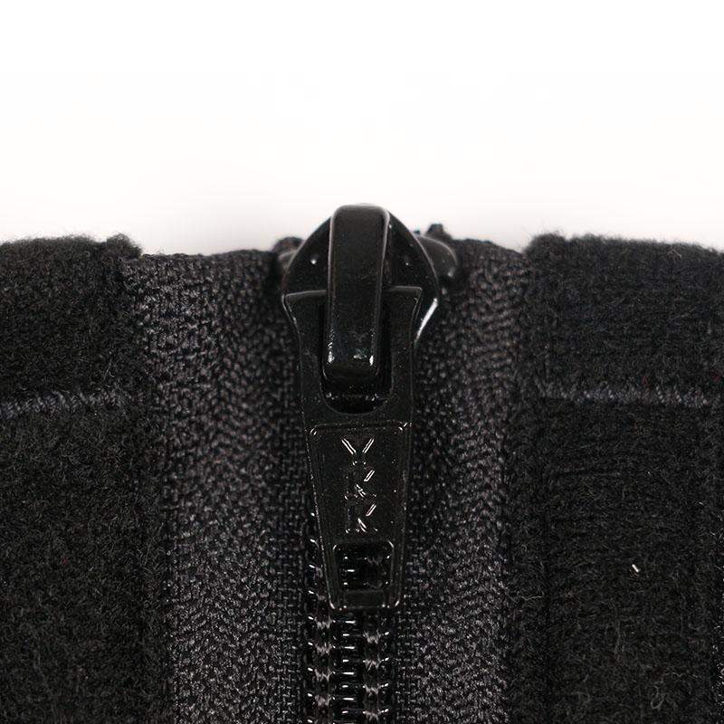 The YKK zipper of 9 steel boned double belt waist trainer wholesale