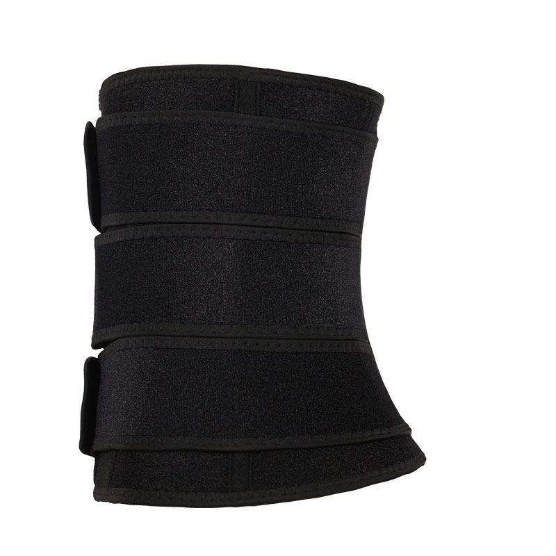 The right of 3 belts waist trainer with zipper