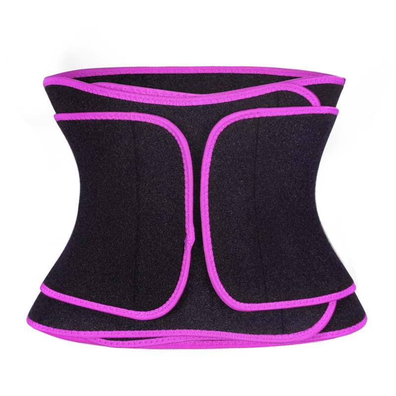 Pink Sweat Waist Slimmer Belt Wholesale