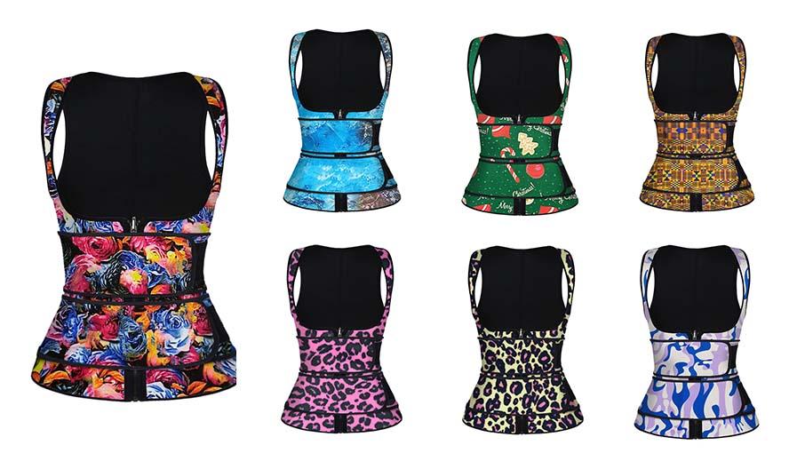 other colors double strap waist trainer vest wholesale