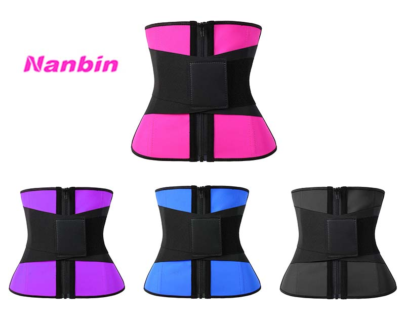 Other colors latex leather label elastic belt waist trainer