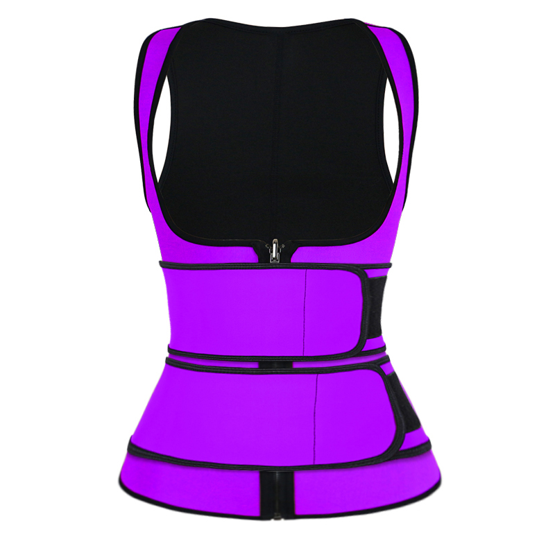 puple double strap waist trainer vest wholesale