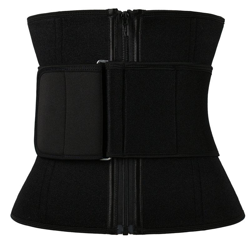 11.5 Inch Pulley Neoprene Waist Trainer With Belt