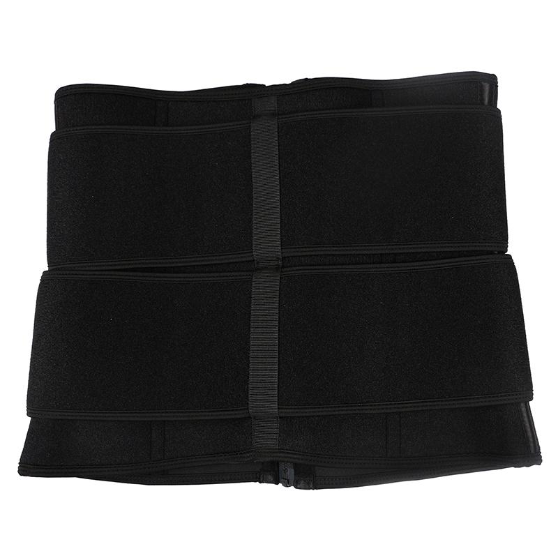 pulley double belt waist trainer