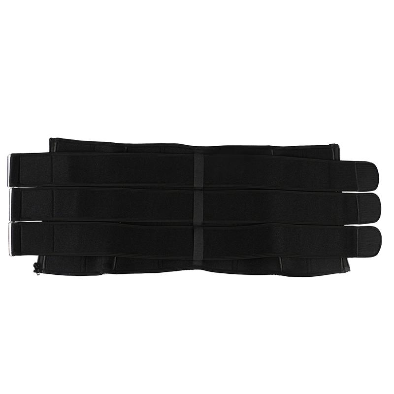 neoprene 3 belt waist trainer with zipper