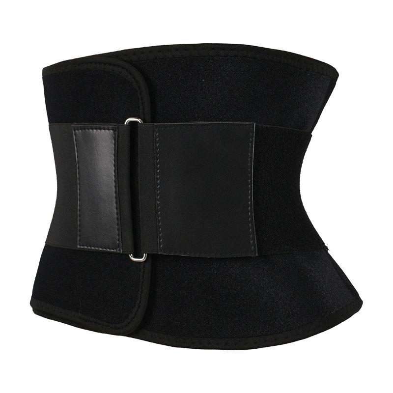 The left of 4-layer single elastic belt 4 steel boned waist trainer