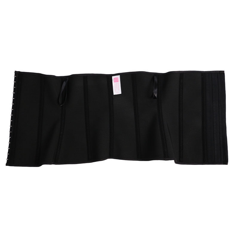 The inside of latex double elastic band waist trainer