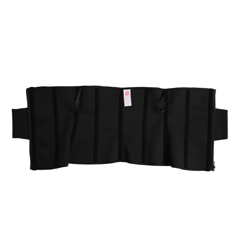 The inside latex leather label elastic belt waist trainer