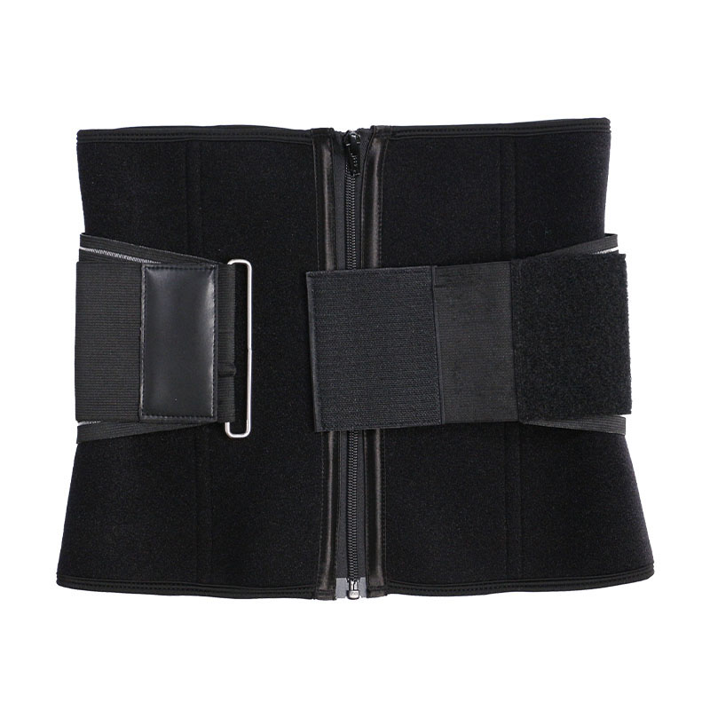 exercise waist trainer with elastic belt