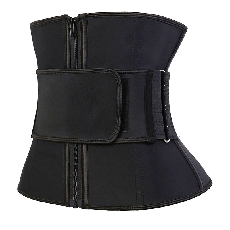 The left of wholesale latex three-layer elastic waist trainer