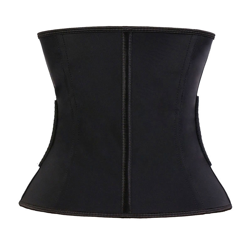 The back of wholesale latex three-layer elastic waist trainer