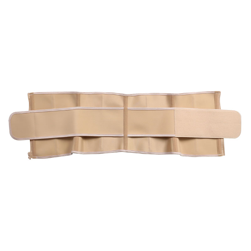 9 steel bone latex waist belt