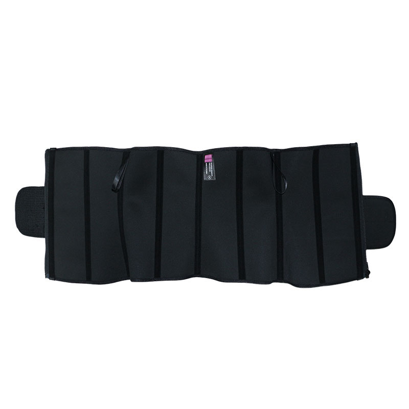 The inside of 9 steel bone four-layer latex waist trainer wholesale vendor