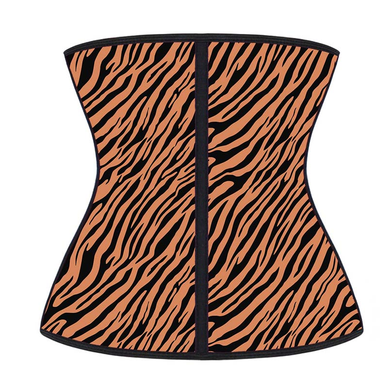 The back of Wholesale Latex Waist Trainer For Women