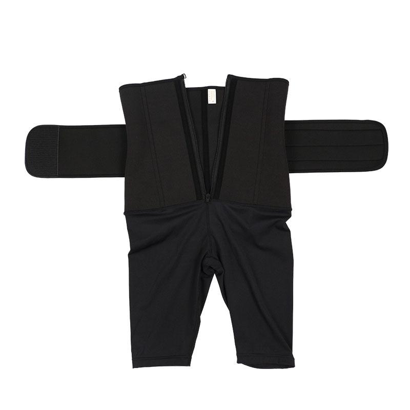 Single Belt Five-Point Tummy Shaper Pants