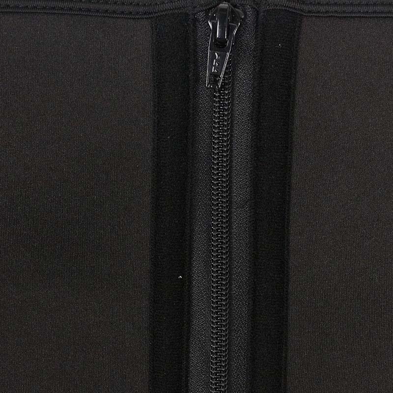 The ykk zipper of Three Belt Neoprene Waist Trainer With Pants