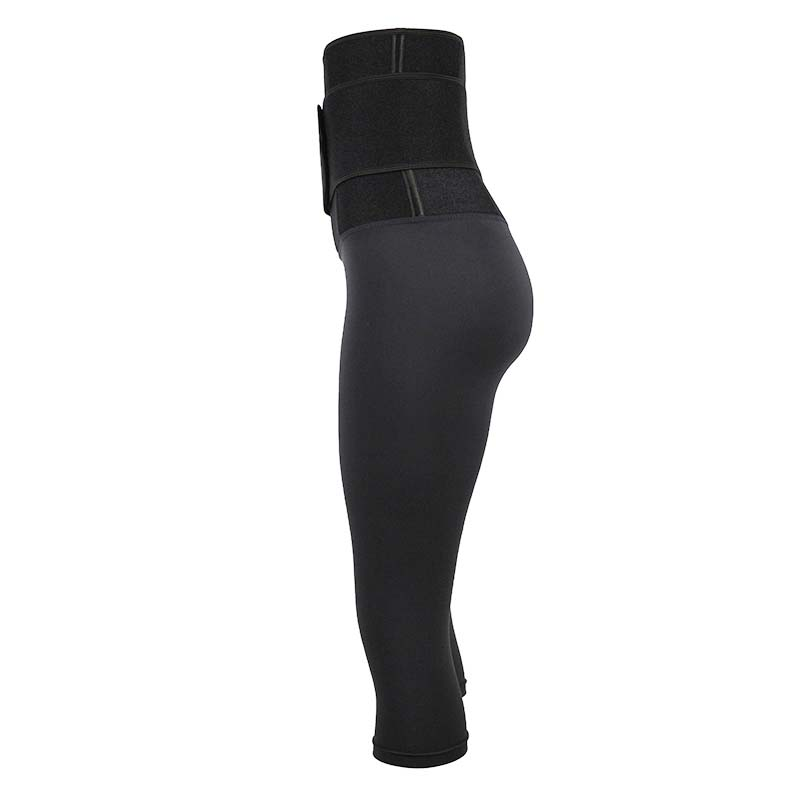 The left of Body Shaping Pants With Logo