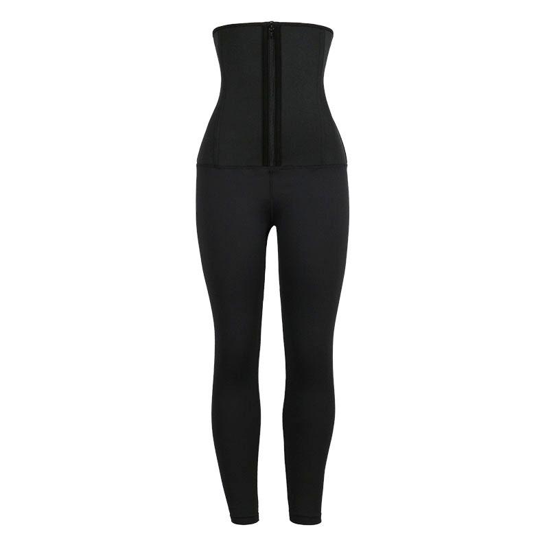 Neoprene Classical Waist Trainer Jumpsuit Pants