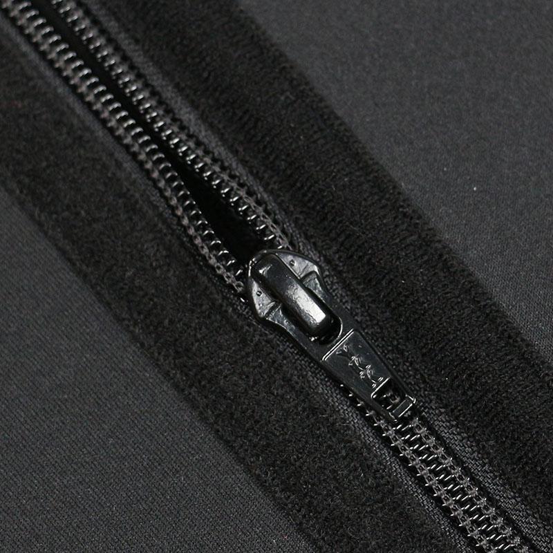 The YKK zipper of Neoprene Classical Waist Trainer Jumpsuit Pants
