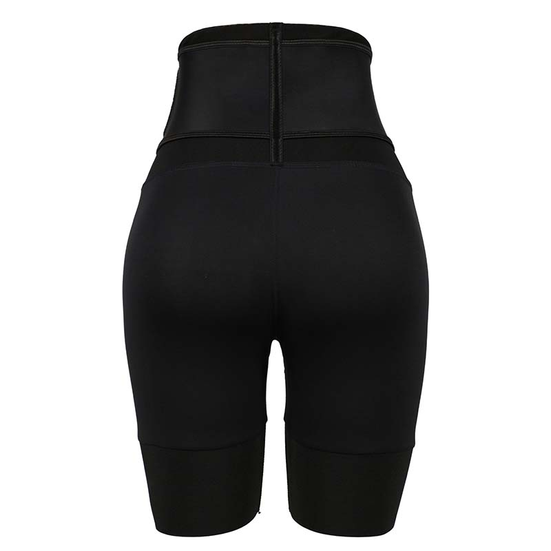 The back of Latex Waist Trainer Without Steel Bones
