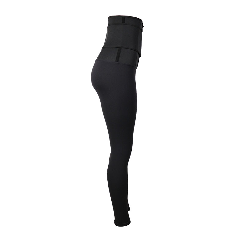 The right of 9 Inch SBR Material Body Shaping Pants With Belt