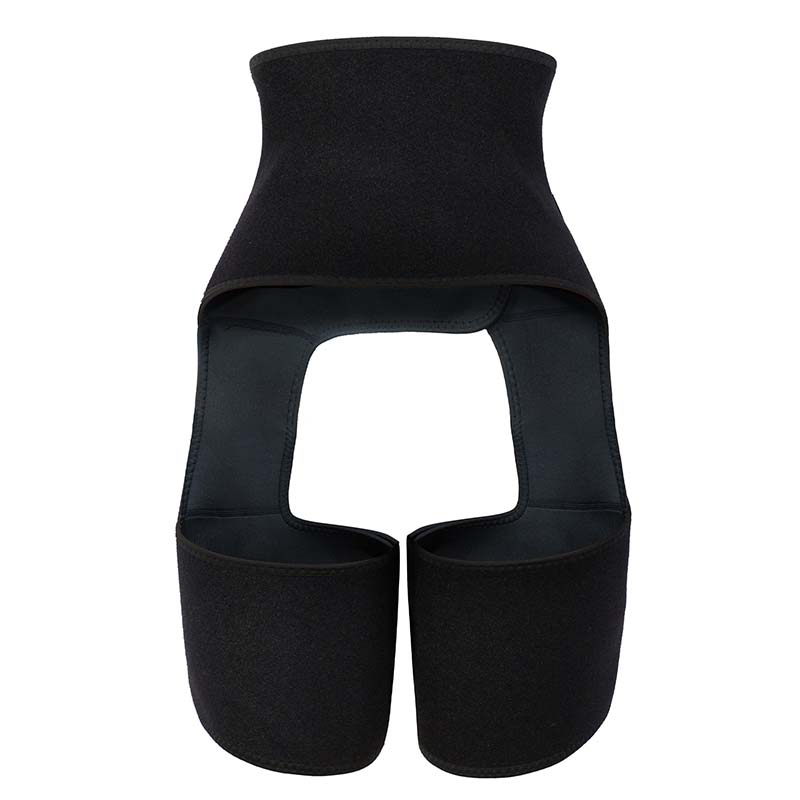 The back of Wholesale OK Cloth 3 In 1 Waist And Thigh Trimmer