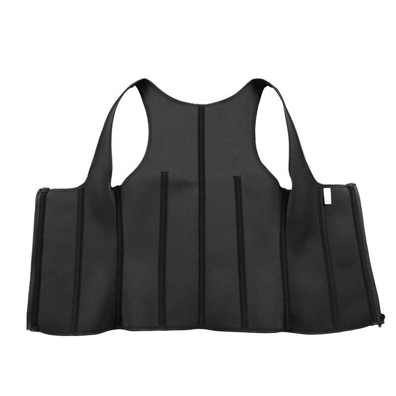 The inside of OK Cloth Wide Shoulder Strap Waist Trainer Vest For Women