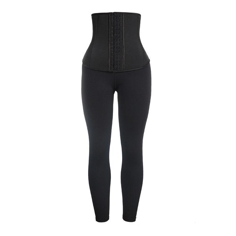 Neoprene Front Long And Back Short Corset + Milk Silk Pants
