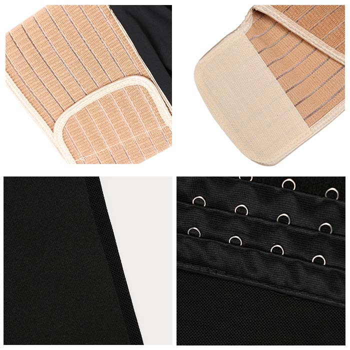 The details of Latex 6.5-inch Waist Trainer Without Steel Bones