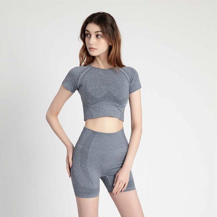 gray Short Sportswear