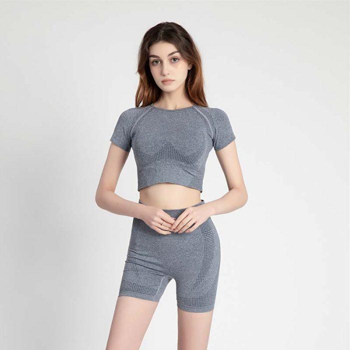 gray High Waisted Sportswear