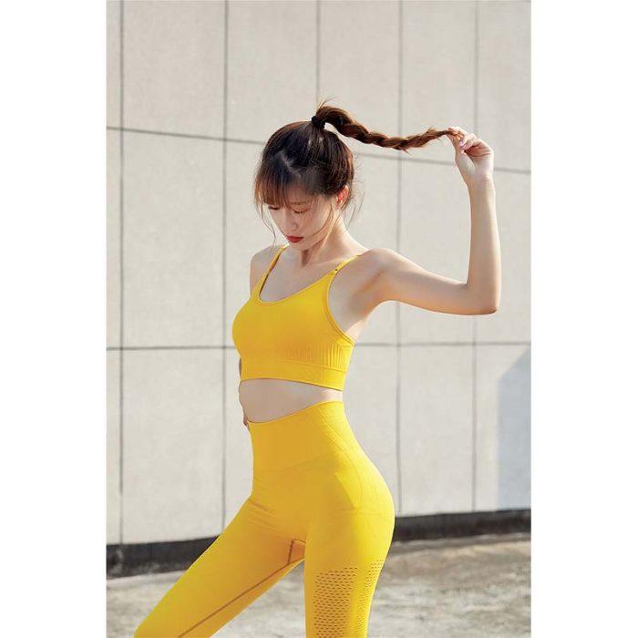 yellow Women Sportswear