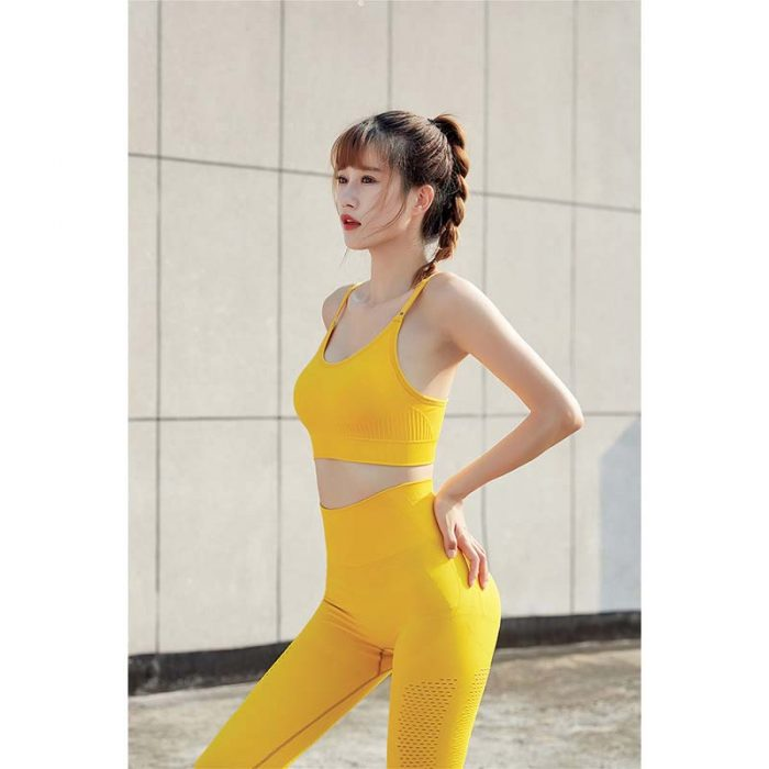 yellow TYKM  Sportswear