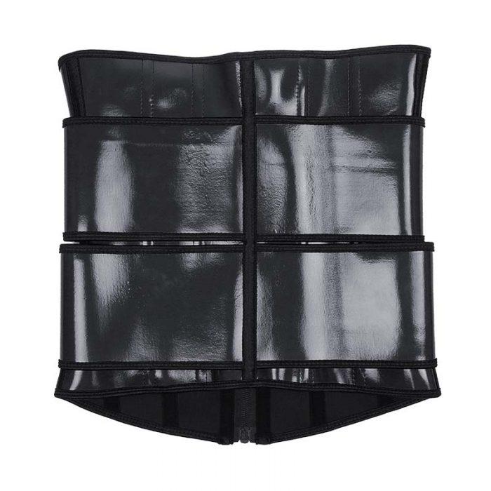 Physical map black waist trainer