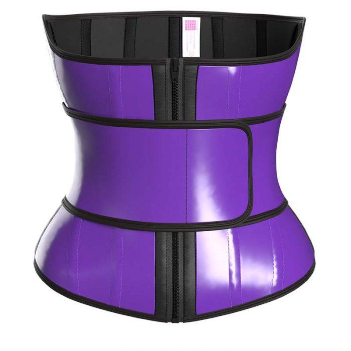 waist trainer purple