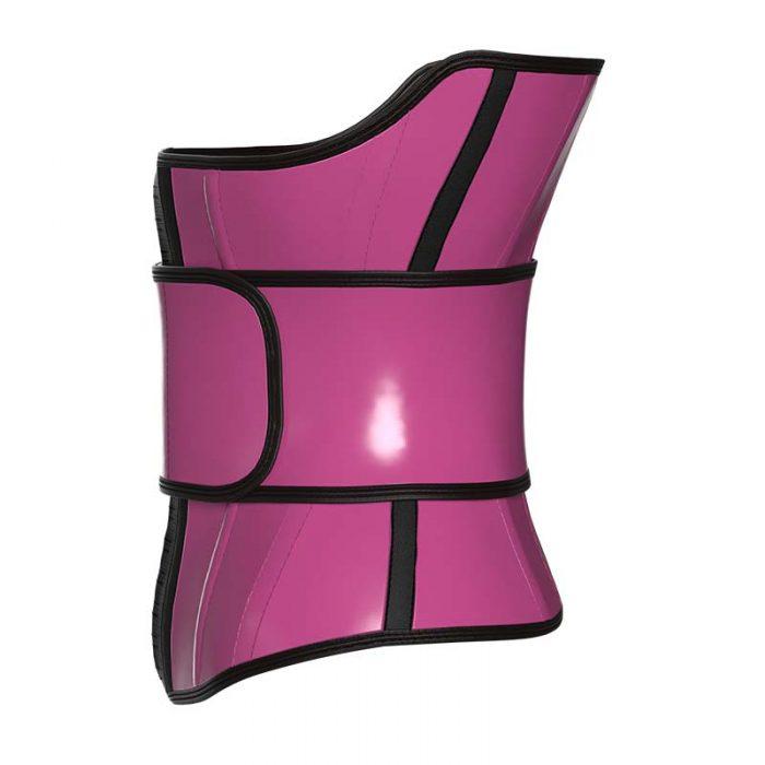 pink waist trainer Left side
