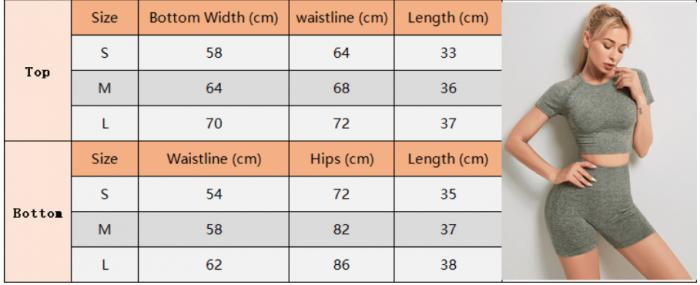 High Waisted Women Short Sportswear size