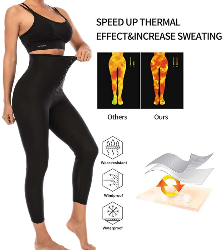 Three Rows Hook Body Shaping Yoga Pants 3