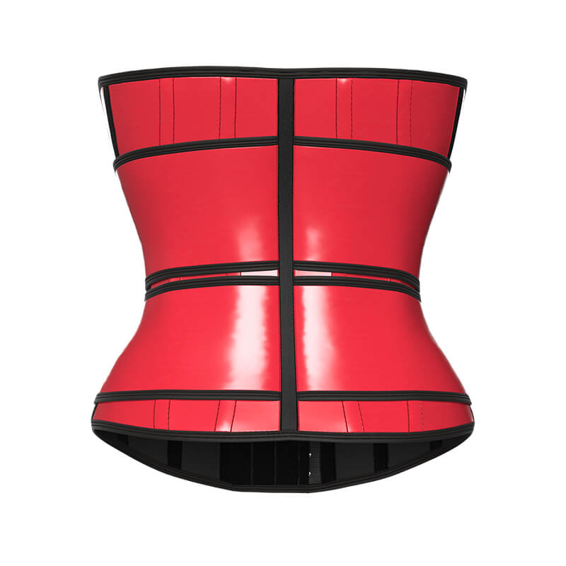 red waist trainer 2